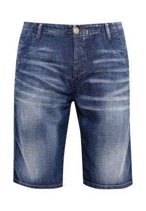 Шорты джинсовые United Colors of Benetton. Цвет: синий