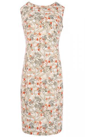 Платье с принтом Le monique
