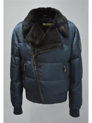 Куртка Bos Bison. Цвет: синий