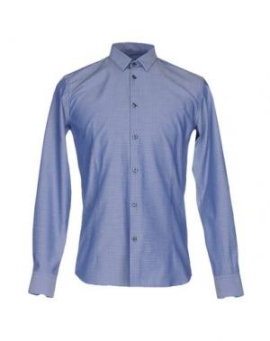 Pубашка DAVID NAMAN. Цвет: грифельно-синий