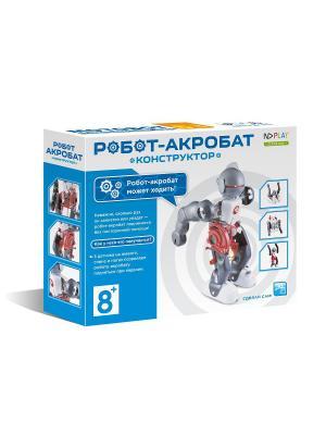 Конструктор Робот-акробат НД плэй. Цвет: синий,белый
