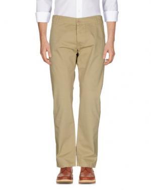 Повседневные брюки BRIAN DALES. Цвет: бежевый