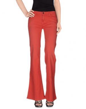 Джинсовые брюки SIWY. Цвет: светло-фиолетовый