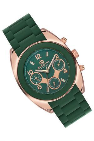Часы BIGOTTI MILANO. Цвет: зеленый