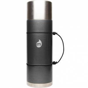 Термобутылка Для Воды MIZU. Цвет: gray hammer paint w/ le drip