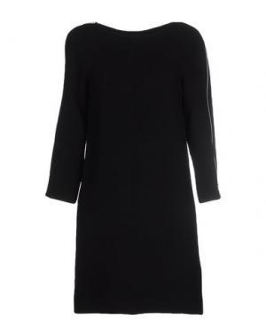 Короткое платье COURRÈGES. Цвет: черный