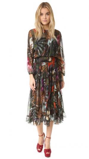 Платье Hostess Warm. Цвет: микс драгоценных камней и цветов