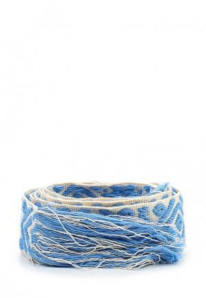 Пояс Motivi. Цвет: голубой