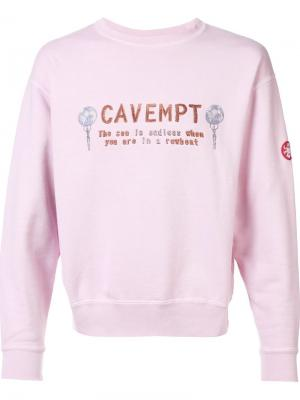 Sea is Endless sweatshirt C.E.. Цвет: розовый и фиолетовый