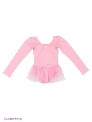 Купальник Танцевальный Мир. Цвет: розовый