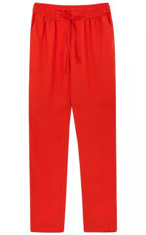 Красные брюки La reine blanche