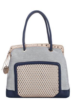 Bag Acqua di Perla. Цвет: blue, beige