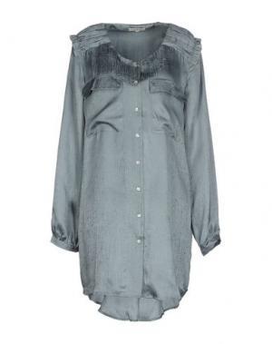 Короткое платье MARGIT BRANDT. Цвет: свинцово-серый
