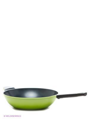 Сковорода Frybest. Цвет: светло-зеленый, черный