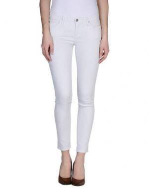 Джинсовые брюки AG ADRIANO GOLDSCHMIED. Цвет: серый