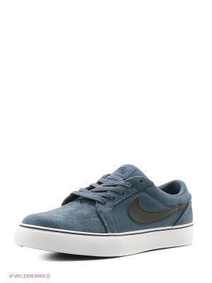 Кеды Nike. Цвет: синий, белый, черный
