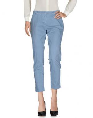 Повседневные брюки -A-. Цвет: небесно-голубой