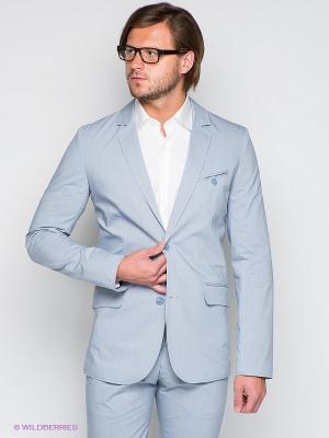 Пиджак Donatto. Цвет: голубой