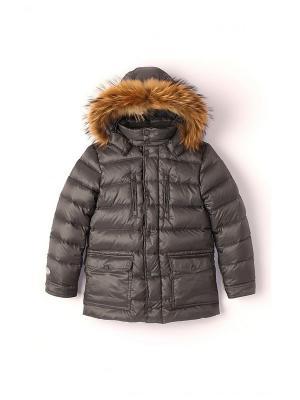 Куртка NELS. Цвет: серый