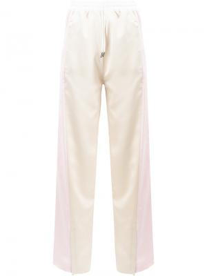 Wide leg trousers Koche. Цвет: телесный