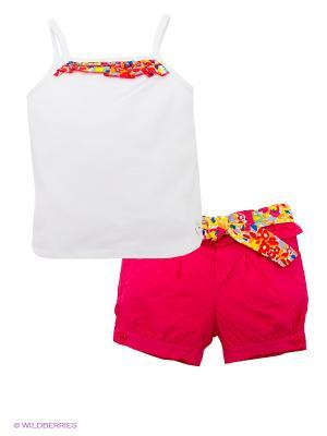 Комплект Bimbalina. Цвет: белый, красный