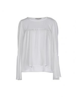 Блузка PAOLO CASALINI. Цвет: белый