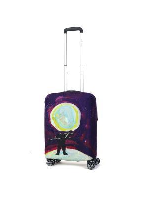 Чехол для чемодана Mettle, Модель Serenity, Размер  S Mettle. Цвет: черный, желтый, индиго