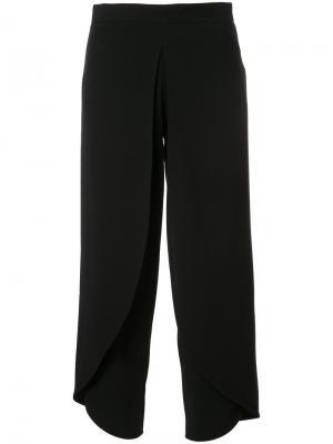 Укороченные брюки Rodebjer. Цвет: чёрный