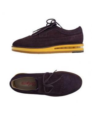 Обувь на шнурках BARLEYCORN. Цвет: розовато-лиловый