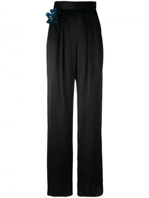 Классические брюки Christopher Kane. Цвет: чёрный