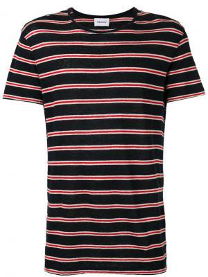 Striped T-shirt Harmony Paris. Цвет: чёрный