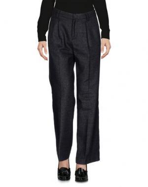 Повседневные брюки ZHELDA. Цвет: стальной серый