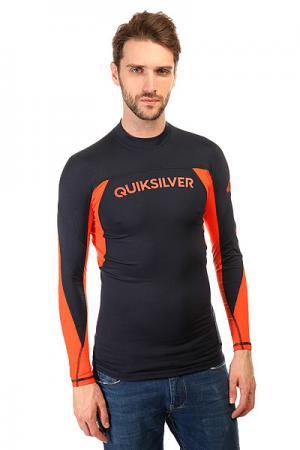 Гидрокостюм (Верх)  Performerls Sfsh Navy Blazer/Mandarin Quiksilver. Цвет: синий,оранжевый