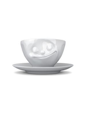 Кофейная пара Tassen. Цвет: белый