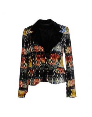 Пиджак DIDIER PARAKIAN. Цвет: темно-зеленый