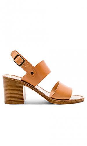 Туфли на каблуке state of mind Seychelles. Цвет: цвет загара