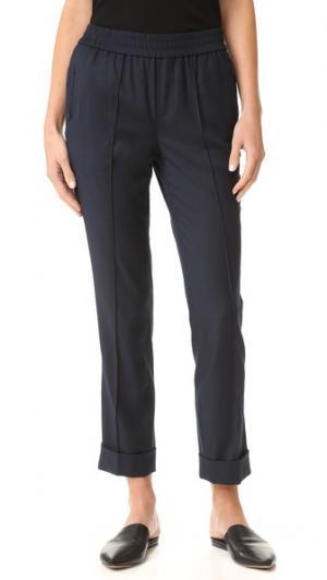 Прямые брюки со свободной посадкой ATM Anthony Thomas Melillo. Цвет: голубой