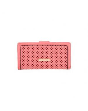 Бумажник MARIA MARE. Цвет: коралловый