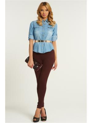 Рубашка Vittoria Vicci. Цвет: голубой