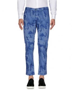 Повседневные брюки RE-HASH. Цвет: синий
