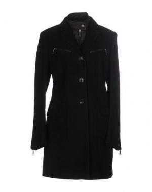 Пальто CALVARESI. Цвет: черный