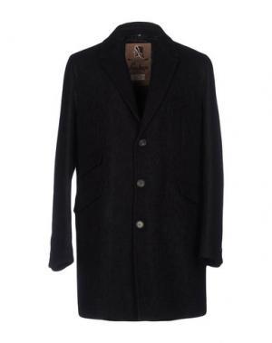 Пальто SEALUP. Цвет: черный