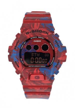 Часы Casio. Цвет: бордовый