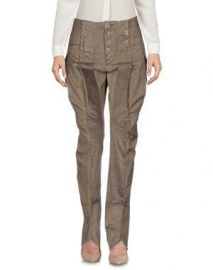 Повседневные брюки LE JEAN DE MARITHÉ + FRANÇOIS GIRBAUD. Цвет: хаки
