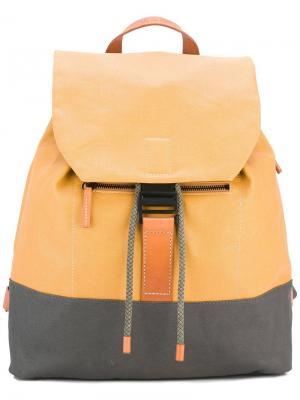 Рюкзак Haye Ally Capellino. Цвет: жёлтый и оранжевый