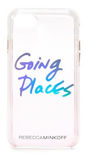 Чехол Going Places для iPhone 7 Rebecca Minkoff