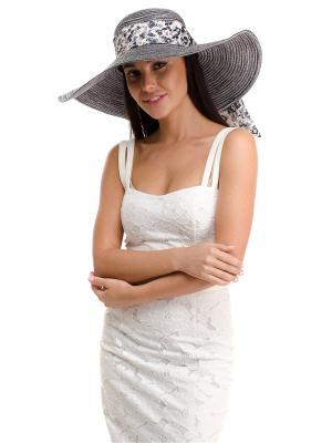 Шляпа Moltini. Цвет: серый