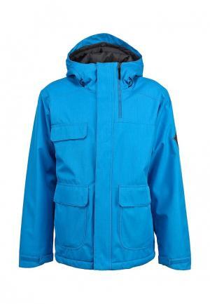 Куртка горнолыжная Bonfire. Цвет: синий