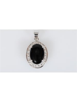 Кулон Lotus Jewelry. Цвет: серебристый, черный