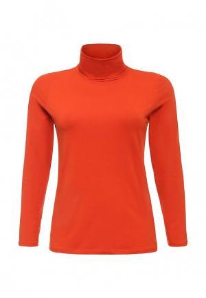 Водолазка Emoi Size Plus. Цвет: оранжевый